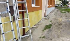 Přístavba MŠ - červenec