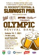 Rockový festival slavnosti piva