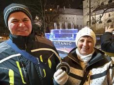 TITANIC a vánoční trhy Brno